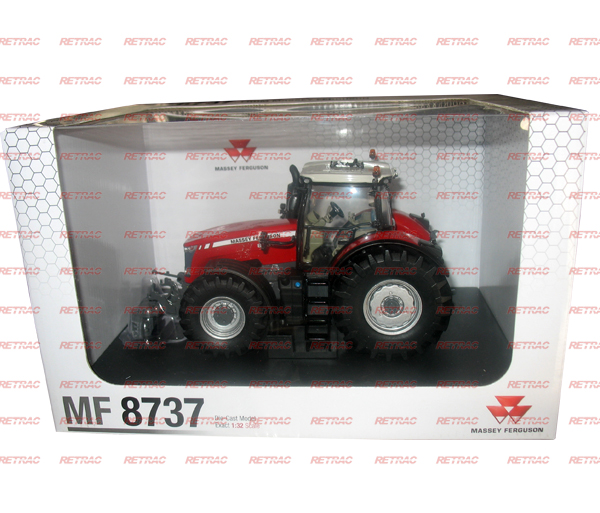 MINIATURA TRACTOR MF8737 ESCALA 1-32